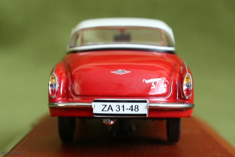 DDR Auto Kollection 1:43 Atlas Magazinmodell Wartburg 313//1 Sport